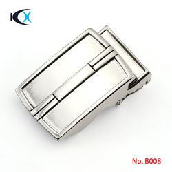 Leather Belt Replaceable Automatic Belt Buckle For Business Leather Belt