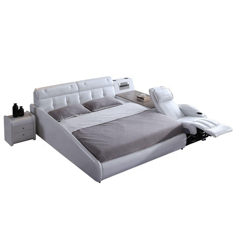 Luxury classic Modern and simple save space multi-function Apartment bed work and recreation smart bed luxury bed
