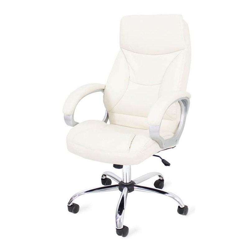 High quality indoor office furniture modern high back PU leather executive chair removable nylon foot executive office chair