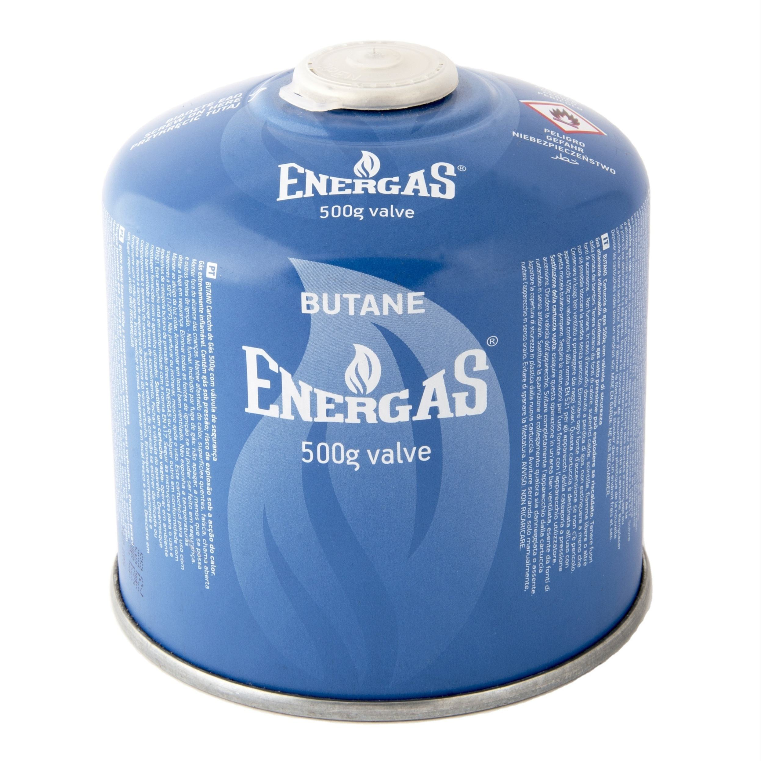Tragbare 500g Butan Gas <span class=keywords><strong>Kanister</strong></span> Mit Gewinde Ventil Schraube Fit
