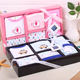 factory supply newborn baby clothing gift set 8pcs baby gift box 100% cotton knitted baby wear set