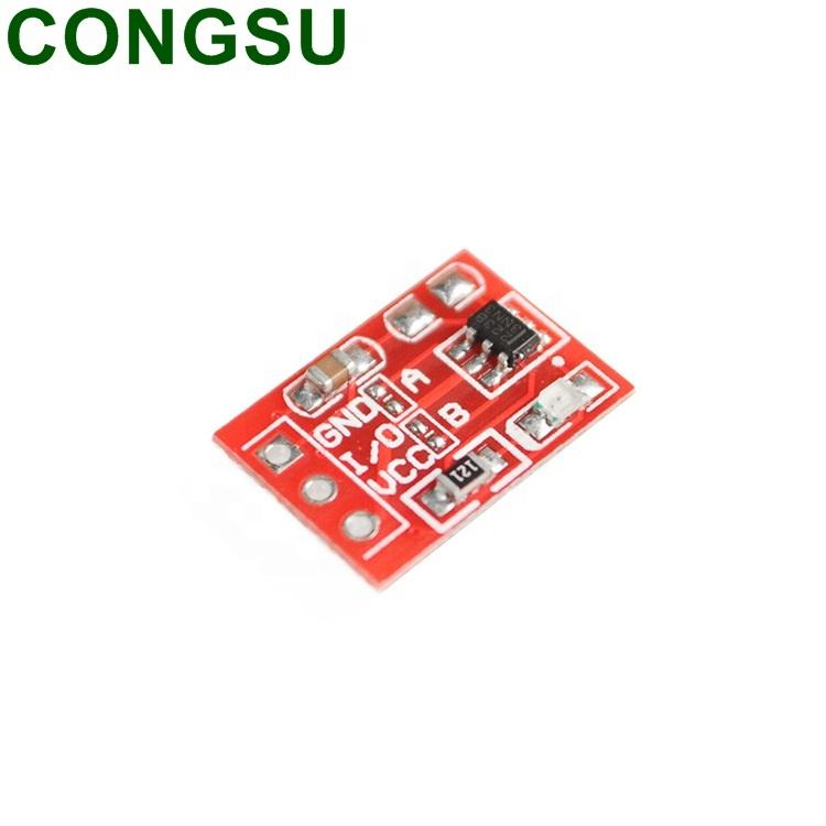 2.5V 5.5V TTP223 Single Channel Self Locking Capacitor Capacitive Touch Switch Sensor Button Module
