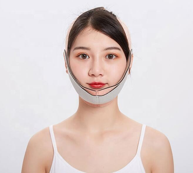 Top Sale V line Face Lift belt chin Cheek Facial Slimming Strap Beauty Care Anti-Wrinkle Strap