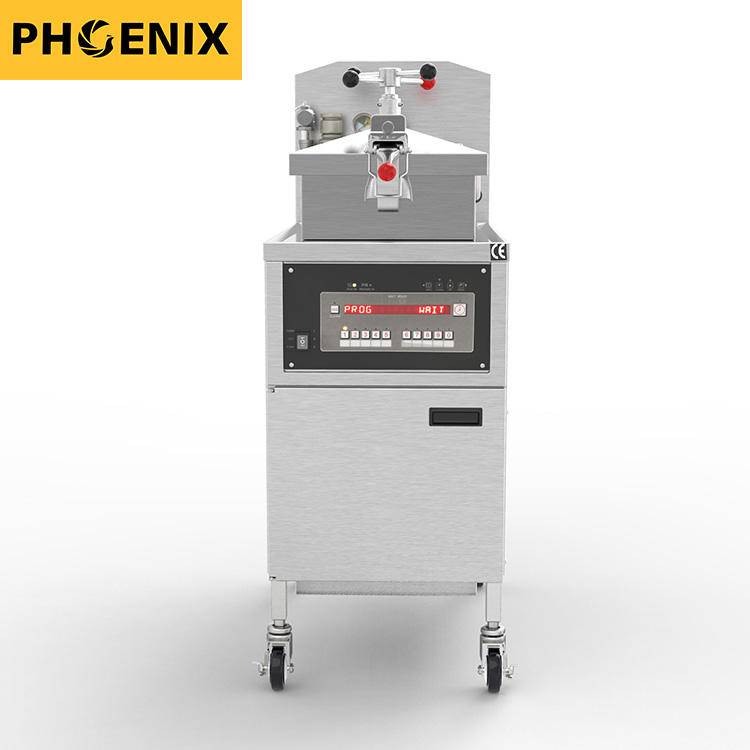KFC Fast Food Restaurant Kitchen fried chicken fryer Henny Penny PFE-800 Chicken Broasted Machine Pressure Fryer with Oil Filter