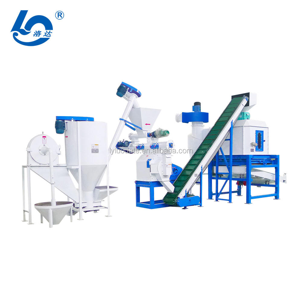 Animal food machine/ Chicken feed pellet machine/Cattle feed plant