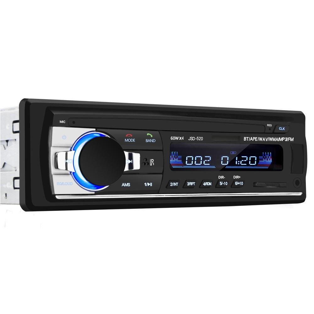 Top di vendita di controllo di musica digitale radio auto lettore mp3 con bluetooth