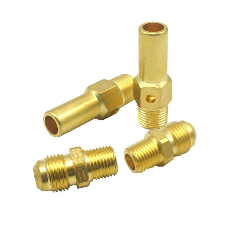 T Y Tee Copper Brass Bell Reducer Threaded Coupling Pipe Fitting