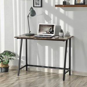 Modern Furniture Manufacturers Cost-Effective Basic Computer Table Wood And Metal L Shaped Desk