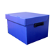Custom Twin Wall Collapsible Pp Corrugated Container Coroplast Coreflute Plastic Storage Box Shelf Bin