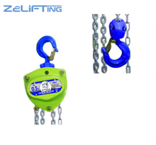 Manual Heavy Duty Handling Equipment Certificated Chain Block Chain Hoist
