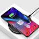 Factory supply wireless Charger 10W Slim QI Wireless Fast Charging Pad for Mobile Phone