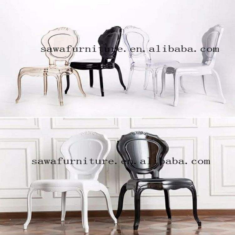 SAWA Outdoors Garden Furniture Plastic Arm Chairs For Wedding Banquet Events