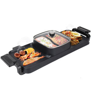 Cooking Pot Cooke Multifunctional Student Mini Hotpot Electric Grill