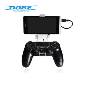 DOBE Factory Direct Supply Adjustable Smart Mobile Phone Clamp Holder For PS4 Slim Pro Dualshock 4 Controller Game Accessories