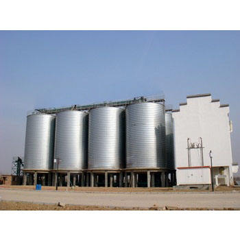 Grain storage silo forming machine/sprial Steel Silo Forming Machine Price