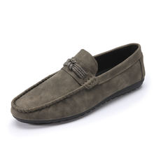 2019 Famous Designer Leather shoes men Casual Mocassin Driving Shoes Low Price Hot Sale mocassin shoes for men