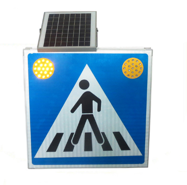 Popular Led Solar Pedestrian crossing Traffic Signs