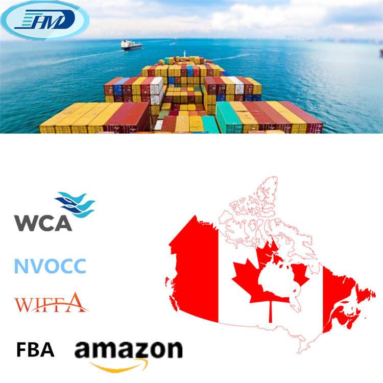Maritime fiable de la chine transitaire maritime canada