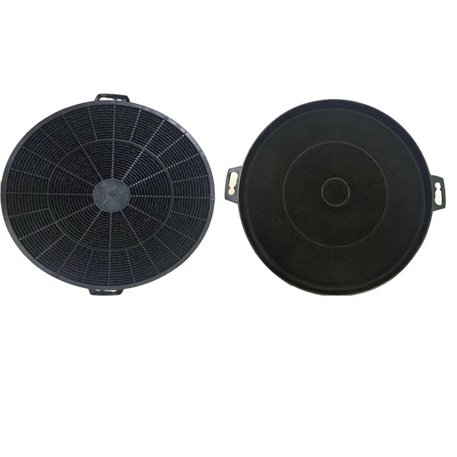 European kitchen hood system activated carbon fiber pre filter
