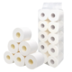 Recycled Paper Rolls OEM JiaTing Brand Direct Manufacturer Sale 200 Sheets Recycled Cheap Toilet Paper Tissue Rolls
