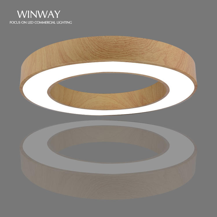 Home Decoratie Opgeschort Led Ronde Fancy Houten Eetkamer Moderne Lamp