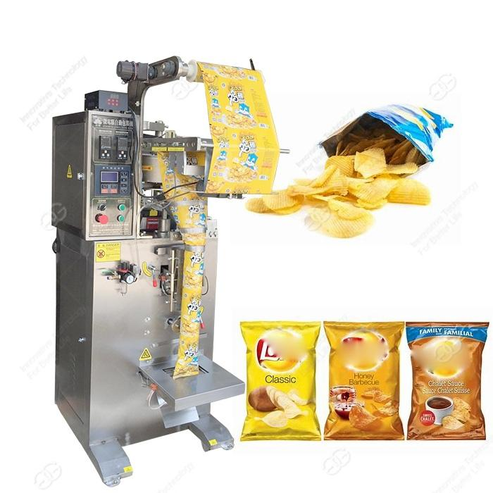 Gelgoog French Fries Small Potato Chips Packing Machine