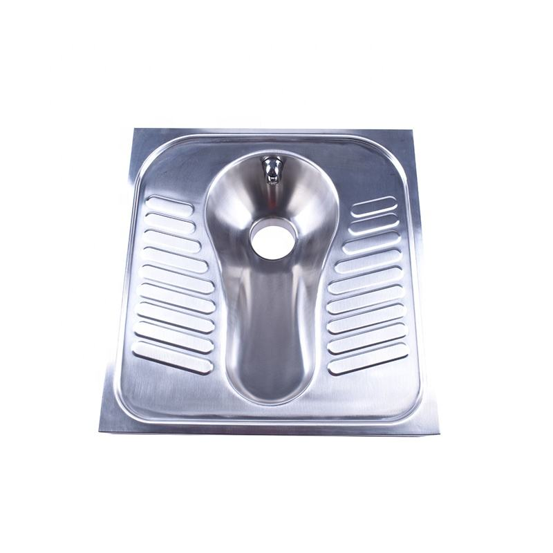 High Quality 304 Stainless Steel Squatting Toilet Wc Pan For Sale
