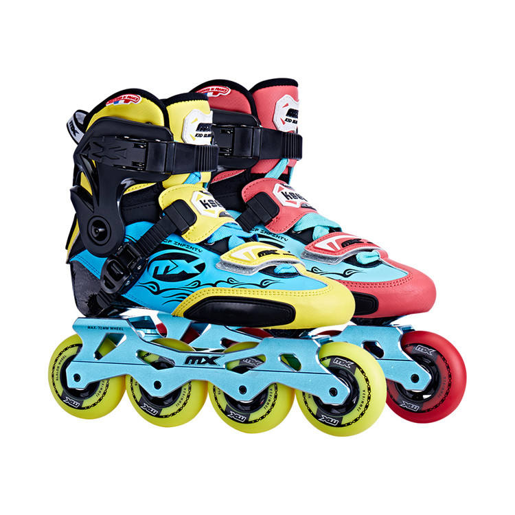Cheap Wholesale Hot Selling Outdoor Best Professional 4 Wheel Freestyle Roller Skating Shoes Fashion Hard Shell Inline Skate