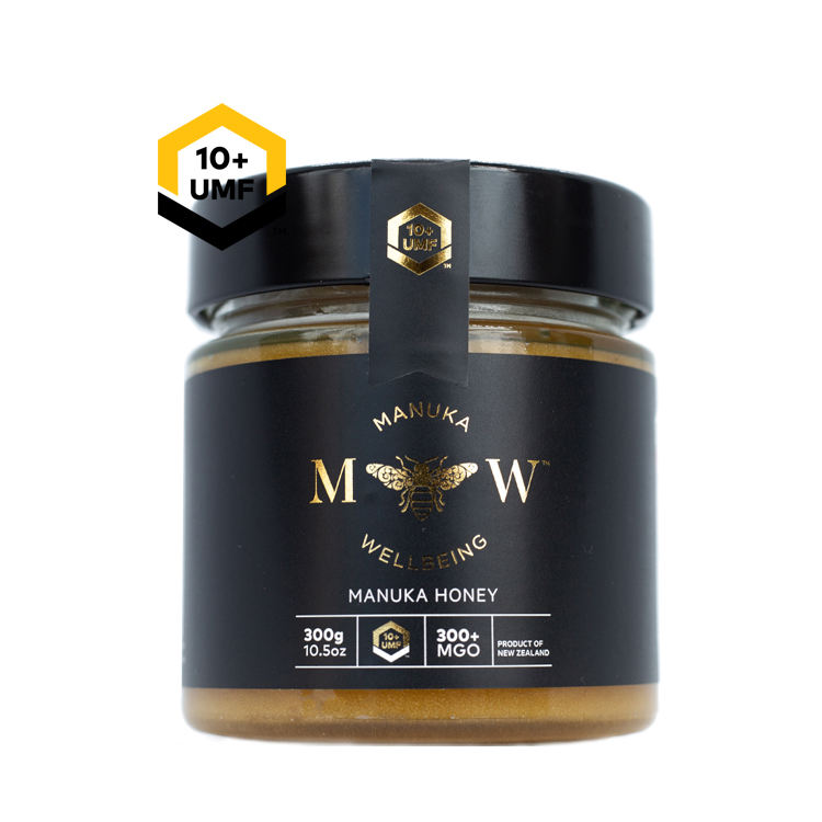 Premium Quality 300g UMF 10+ MGO 300 100% Pure Raw New Zealand Manuka Honey For Sale
