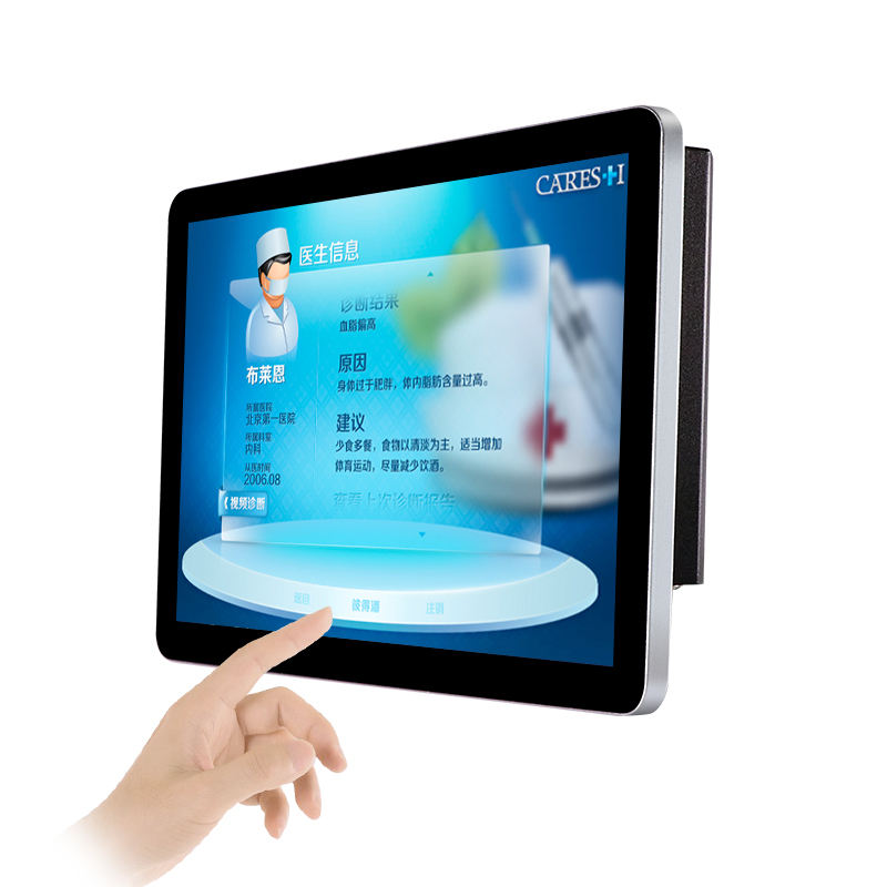 Full Flat Screen USB Touch 10.1 11.6 13.3 14 15.6 inch Metal Housing Industrial PCAP Capacitive Touch Monitor for Kiosk Machine