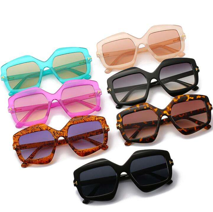 2019 Hottest Big Frame Square Shape New Colors Sunglass 2019