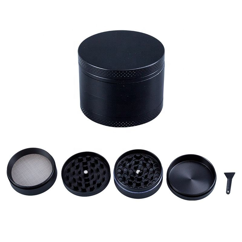Wholesale 4 Layers Zinc Alloy Herb Grinder Pepper Spice Grinding Crusher