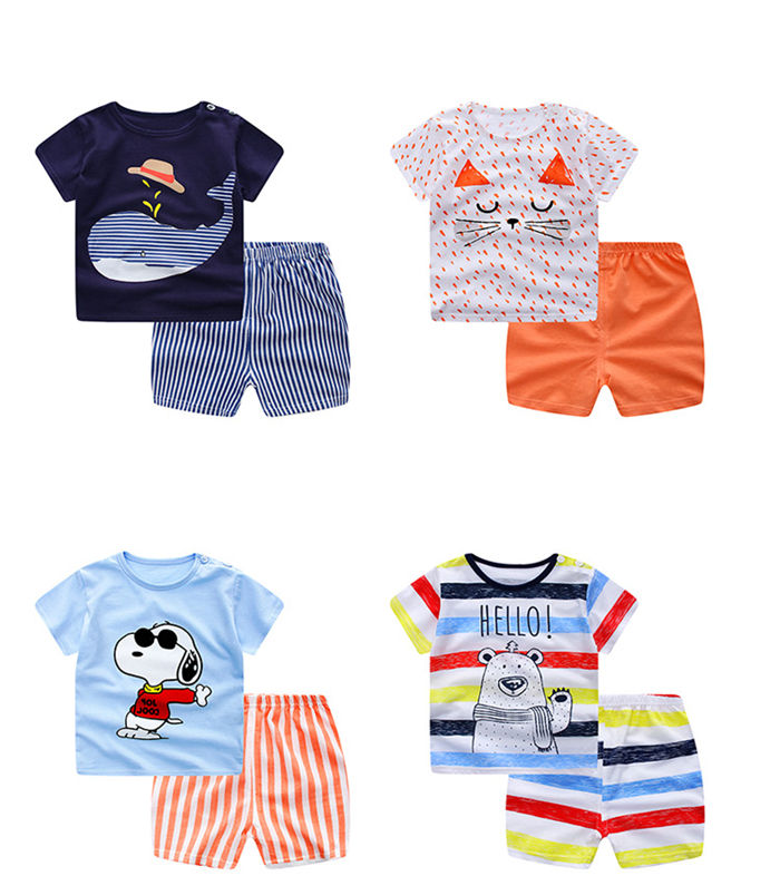 Feiming Factory Children Clothes Set 100 different designs Baby Kids Cotton Clothing children clothes children