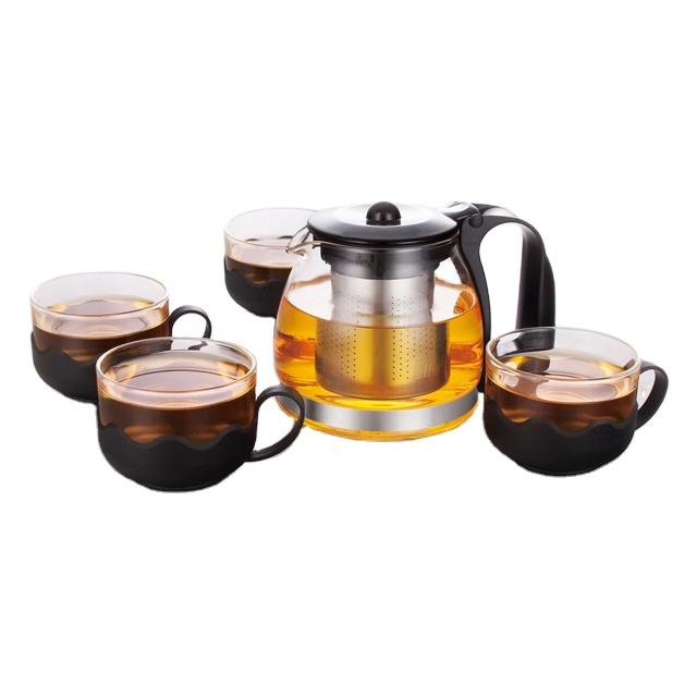 Induction Cooker Coffee Tea Maker glass coffee & tea set