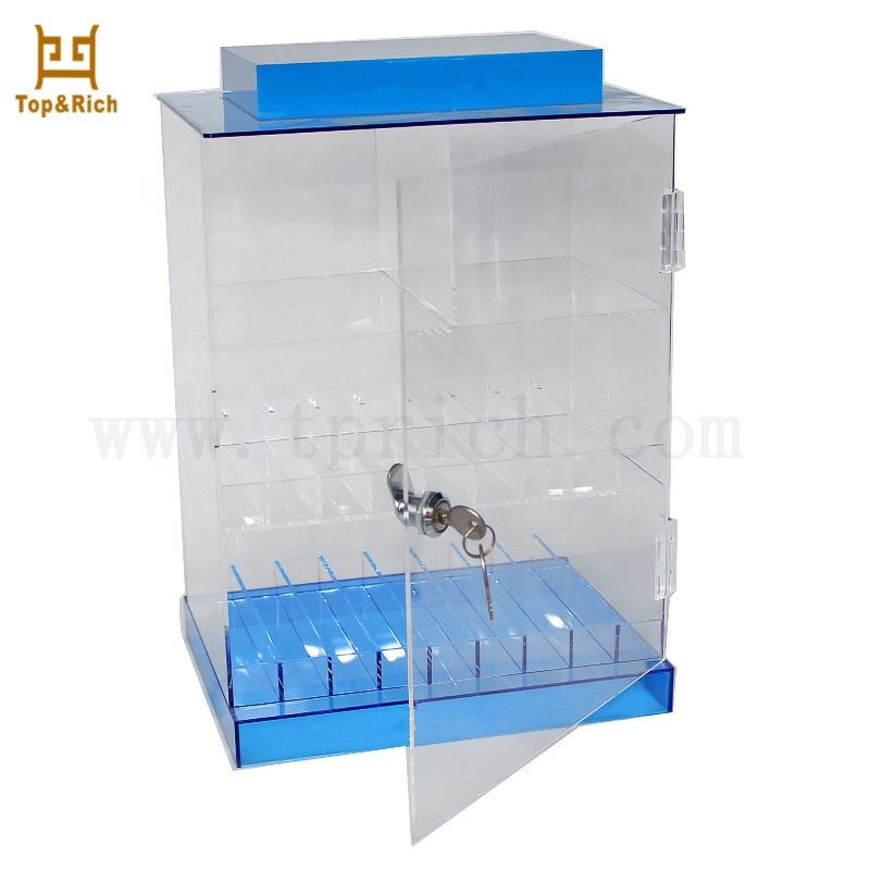 Factory Manufactured Counter Clear Acrylic Displays For Cell Phone Accessories