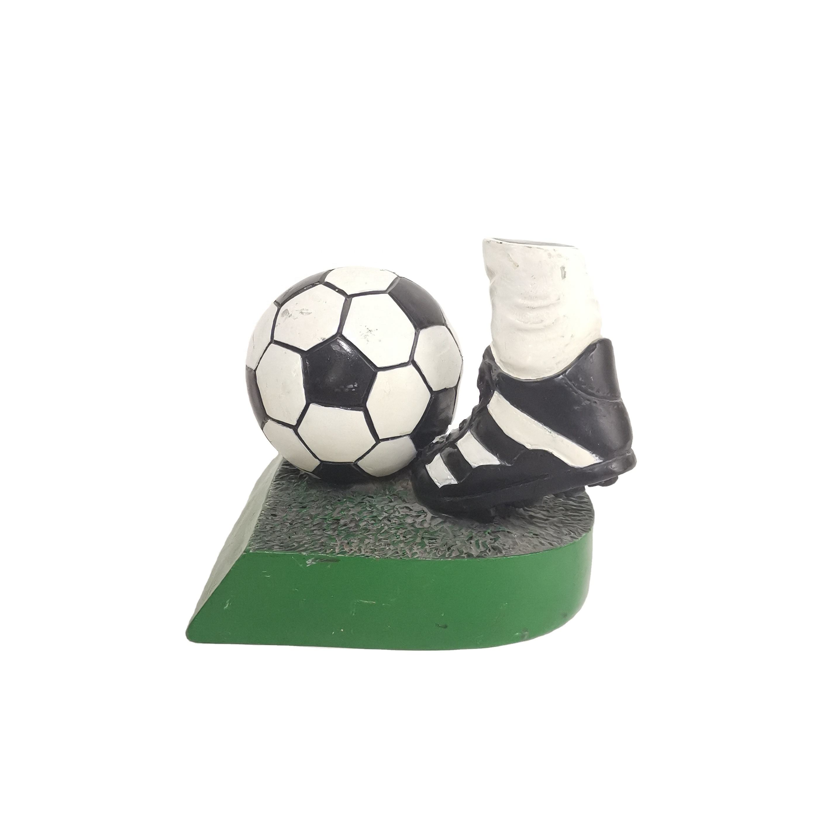 High quality and cheap custom polyresin accessories for soccer clubs and fans