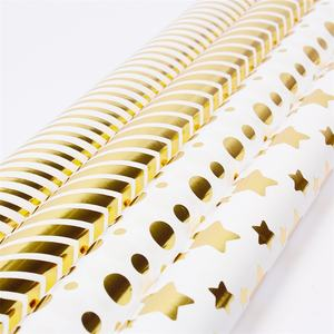 Fashionable custom printed gift wrapping paper roll