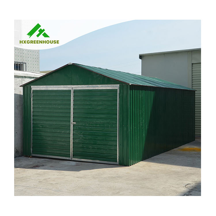 New-style portable prefabricated steel garage (HX81133A)