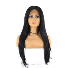 China Supply Synthetic Hair Lace Front Wigs 30 inches
