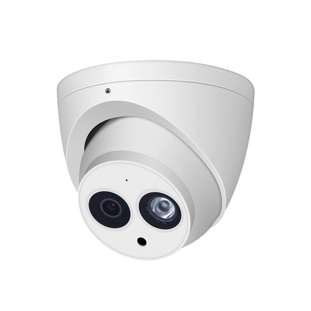 IPC-HDW4631C-A English Russian Spanish turret 6MP OEM made by dahua IP Camera with mic POE Network CCTV Camera IPC-HDW4631C-A