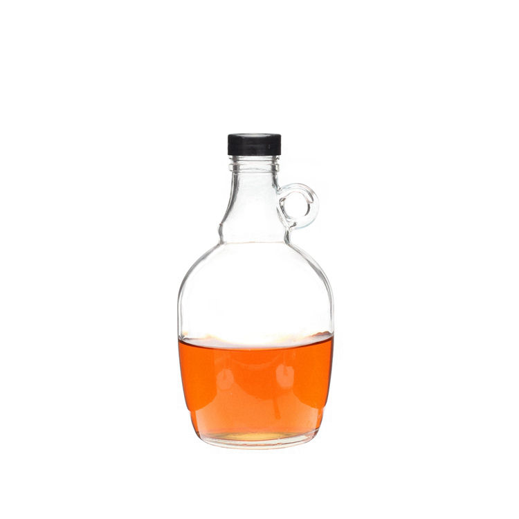 Pabrik Pemasok 1000 ml Kosong California Gaya Bir Growler Glass Handle <span class=keywords><strong>Botol</strong></span> <span class=keywords><strong>Anggur</strong></span>