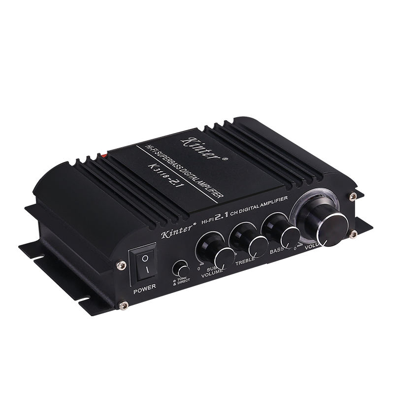 Kinter TPA3118 Bass Mini HIF Stereo Car Home Audio Power Amp 2.1 digital Amplifier