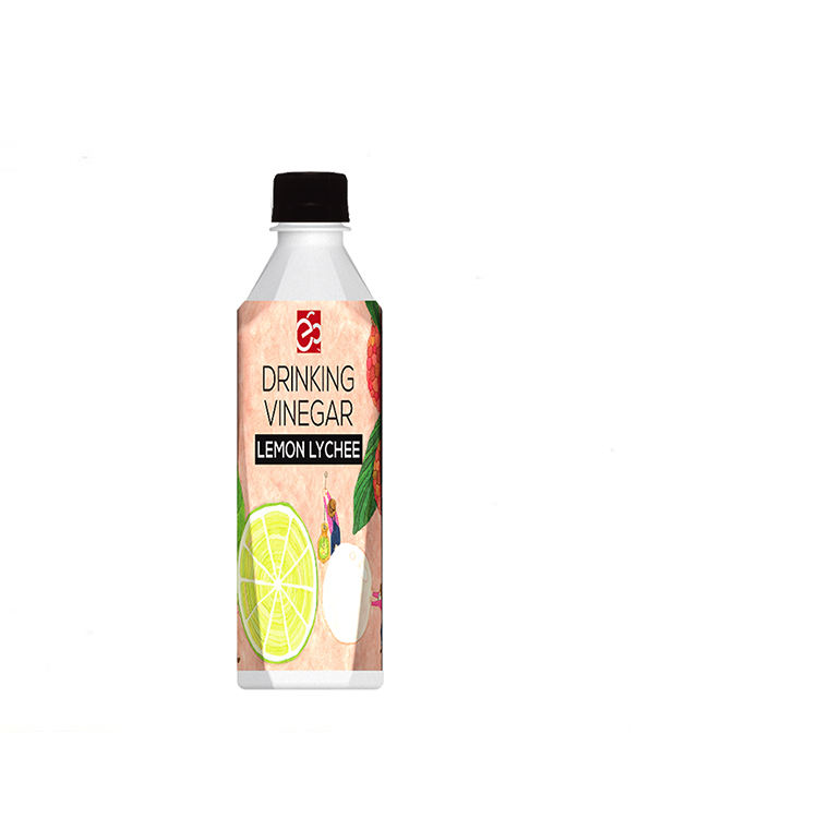 Competitively priced lemon & lychee vinegar drink delicious fruit flavored vinegar drink
