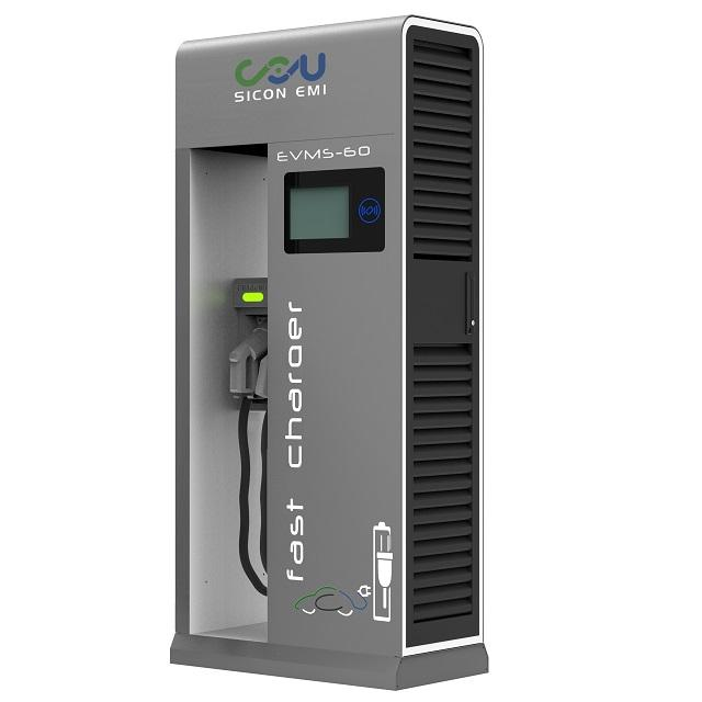 60KW 120KW 150KW Electric Vehicle Car DC Fast Charging Station CCS CHAdeMO AC With 30kw Module Voltage 150V~1000V IEC Standard