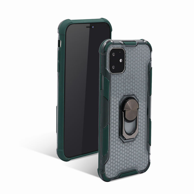 Voor Oppo A9 A5 2020 <span class=keywords><strong>F11</strong></span> <span class=keywords><strong>Telefoon</strong></span> Case, A1K Pc Tpu Autohouder Ring Cover Phone Case