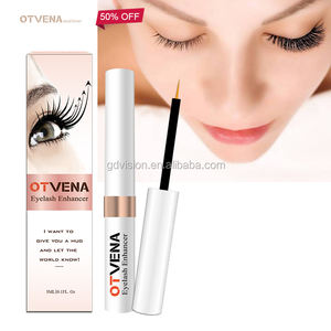 200PCS Custom Own Logo Package Fortify Brittle Lashes Eye Lash Enhancer Growing Eyelash Serum