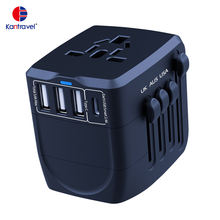 Multi US EU UK AU type C Universal Travel Adapter With USB Charger Travel Charger Adapter