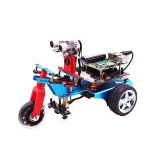 Yahboom STOOM Programmering 3WD Smart Robot Car Kit Voor Raspberry Pi 3B +/4B Met HD Camera