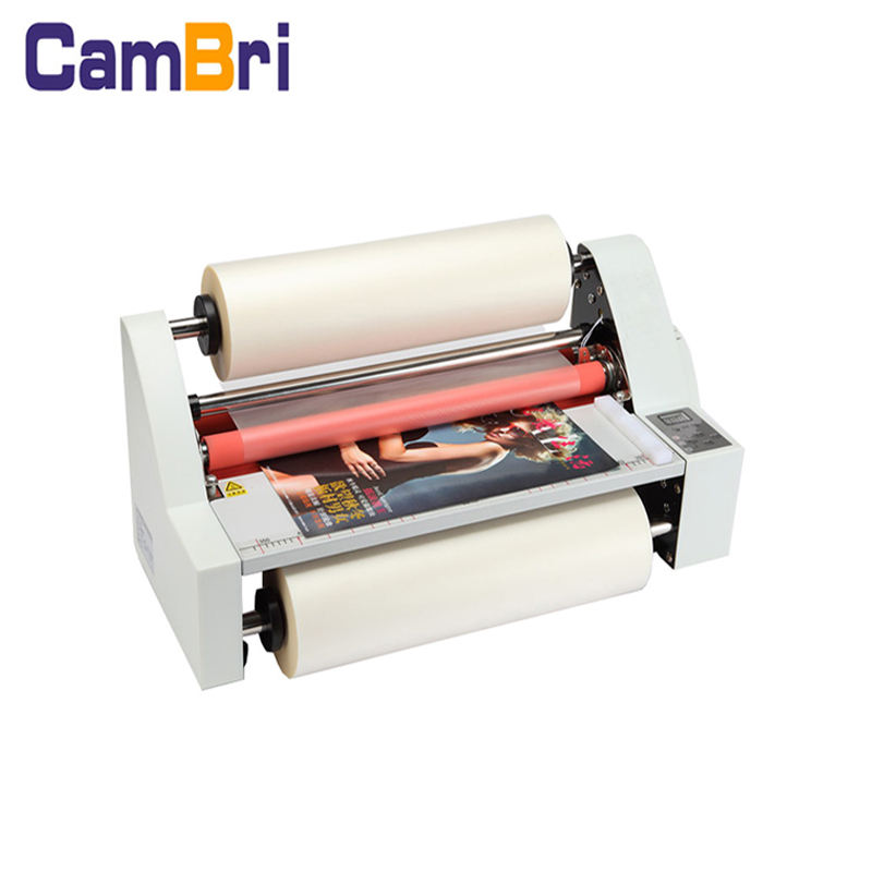 V480 A2 size desktop single and double sides hot and cold roll laminator