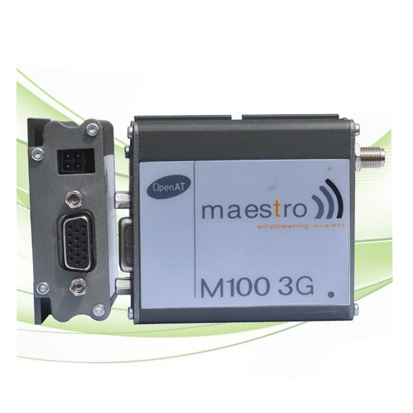 Maestro 100 gsm/gprs modem rs232 db15 mini usb interface de porta serial gsm 3g apoio modem m2m industrial at comando